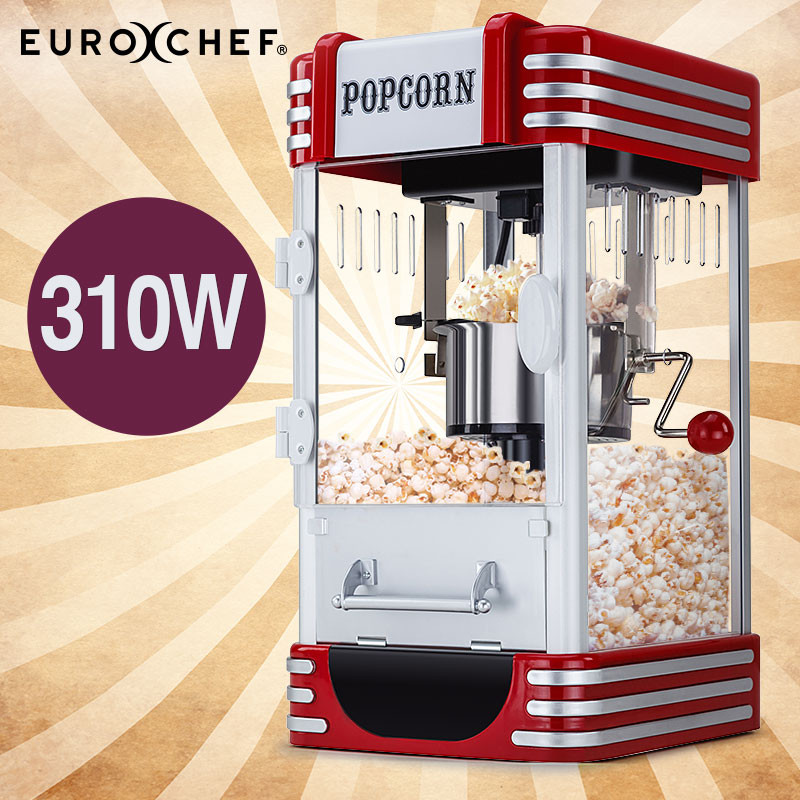 EuroChef Popcorn Machine - Popper Popping Classic Cooker Microwave by EuroChef