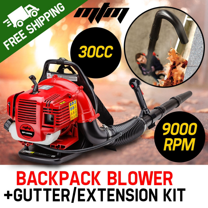 MTM 30CC Backpack Petrol Leaf Blower Yard Garden Commercial Outdoor by MTM