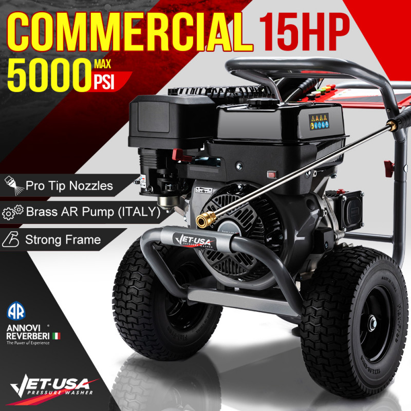Jet-USA 5000PSI Petrol Powered High Pressure Washer- TX870 Gen IV  by Jet-USA