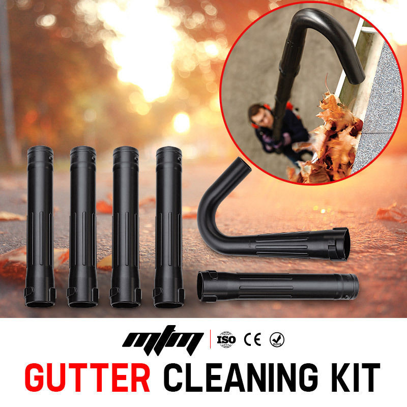 MTM Gutter Cleaning Kit for MTM Blower 30CC - Extension Adaptor Leaf NEW! by MTM