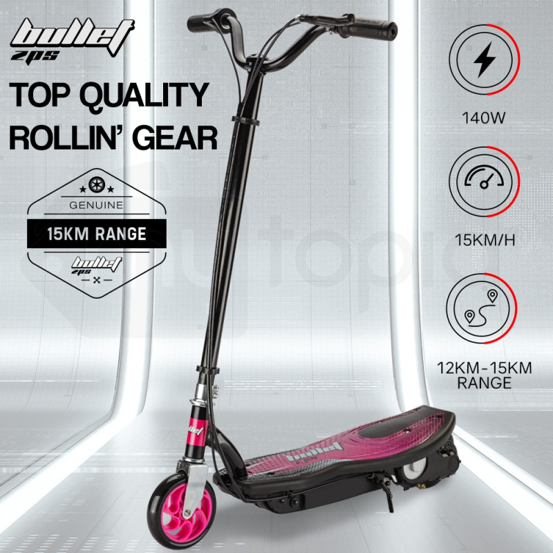 BULLET Pink 140W Electric Kids Scooter - ZPS by Bullet