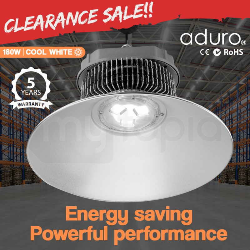 Aduro LED 180W High Bay Light Lamp Lighting Warehouse Industrial Factory Commercial by Aduro