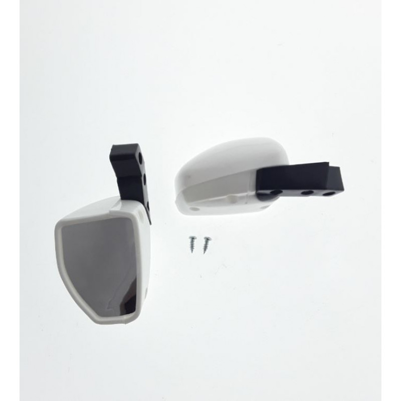 Kids Ride On Car Side Mirror Set of 2 - White by Parts