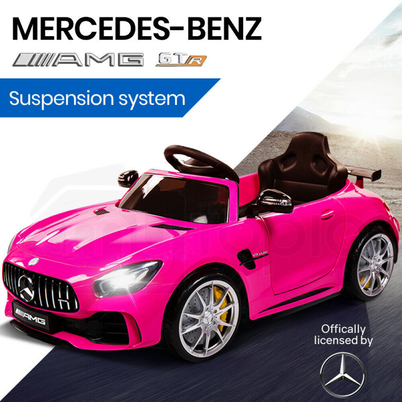 Pink Mercedes Benz Electric Kids Ride On Car Rovo Kids