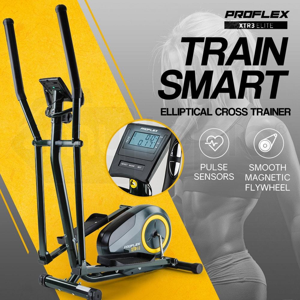 PROFLEX Elliptical Cross Trainer Exercise Home Gym Fitness Equipment XTR4 II