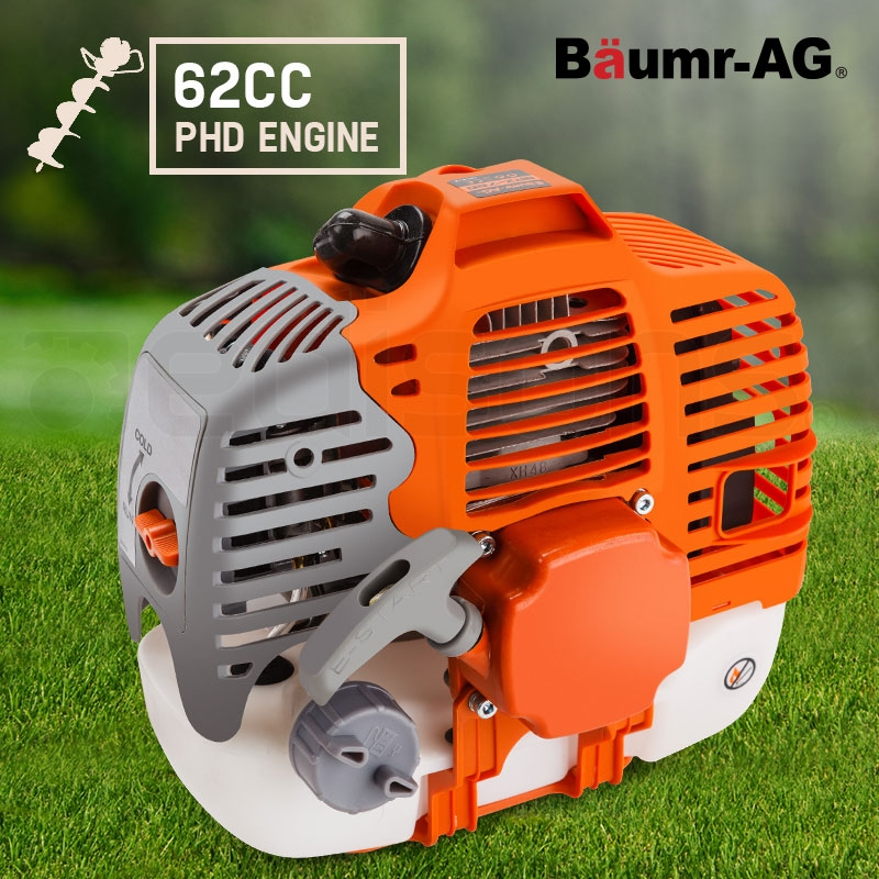 Baumr-AG Engine for Post Hole Digger Replacement 62CC Earth Auger Borer