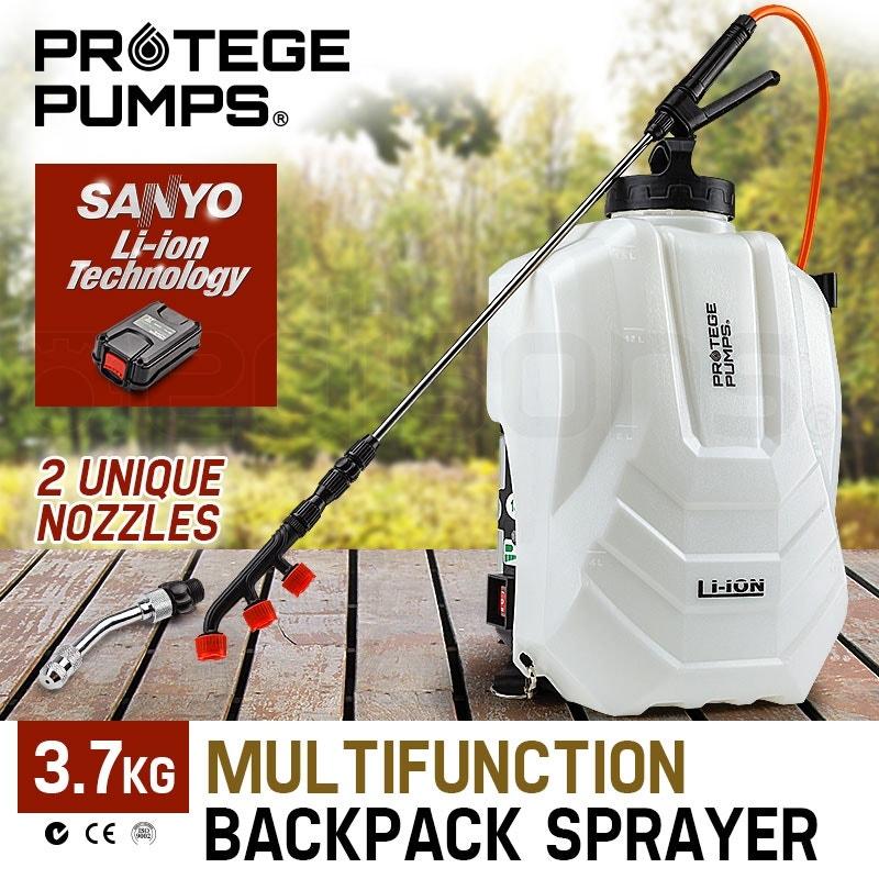 PROTEGE 15L Garden Weed Sprayer Multifunction Backpack Fertilizing Watering Farm