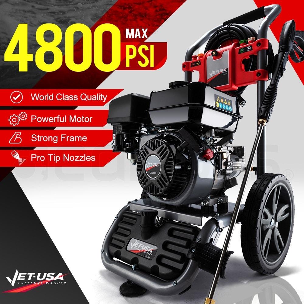 Jet-USA 4800PSI Petrol Powered High Pressure Washer- CX630 Gen IV