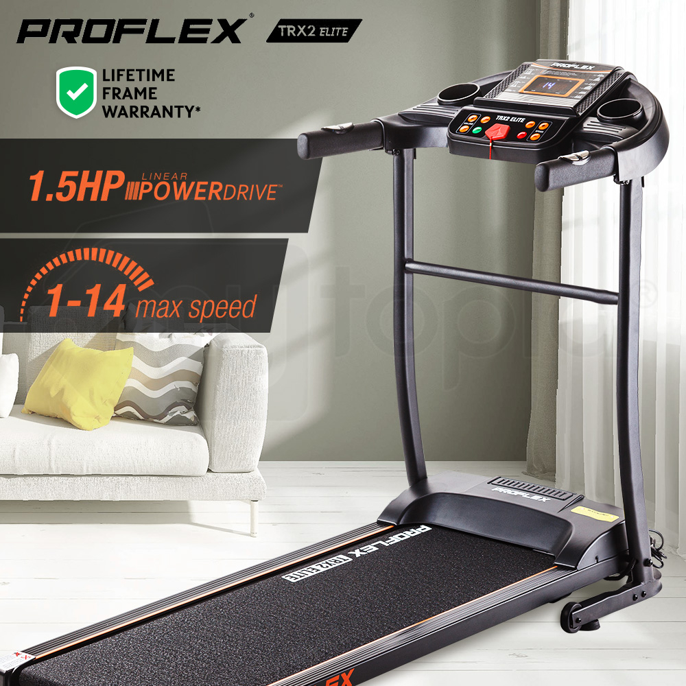 PROFLEX TRX2 Electric Treadmill Fitness Equipment Home Gym Exercise Machine